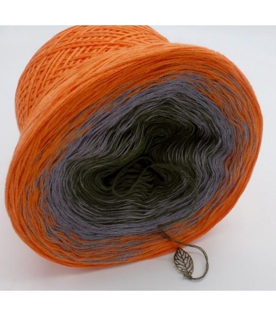 Orange Dream (Оранжевый сон) - 3 нитевидные градиента пряжи - Фото 8