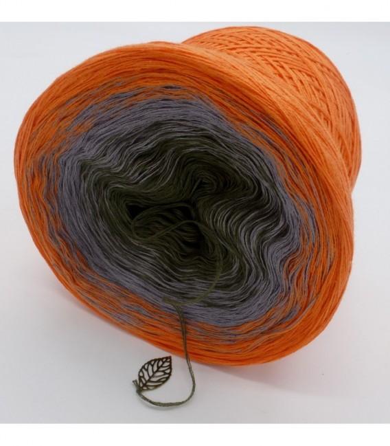 Orange Dream (Оранжевый сон) - 3 нитевидные градиента пряжи - Фото 9