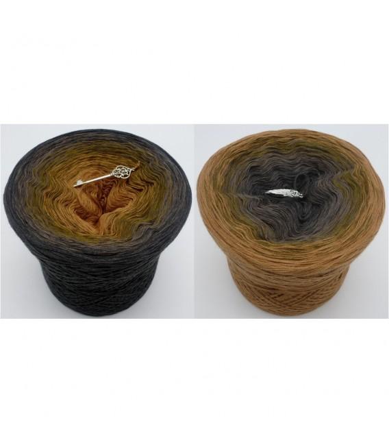 Augenweide (глаз конфеты) - 3 нитевидные градиента пряжи - Фото 1