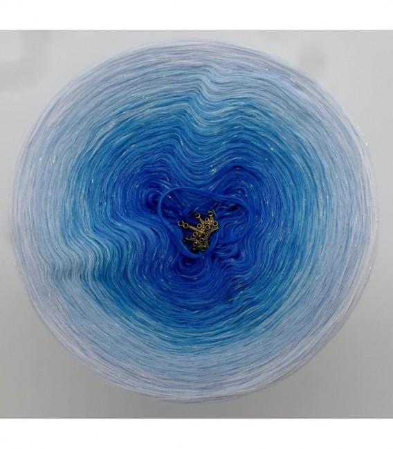 Eisprinzessin - Farbverlaufsgarn 4-fädig - Bild 7
