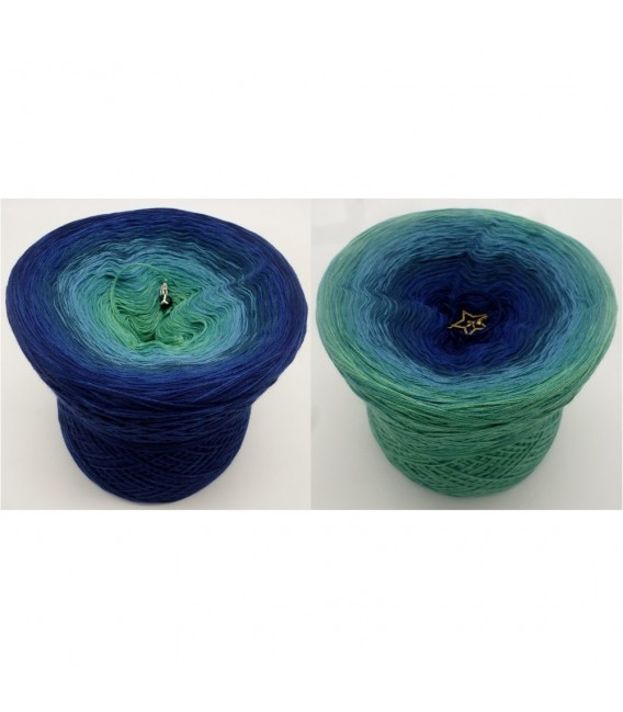 Karibische Nächte (Caribbean nights) - 4 ply gradient yarn - image 1