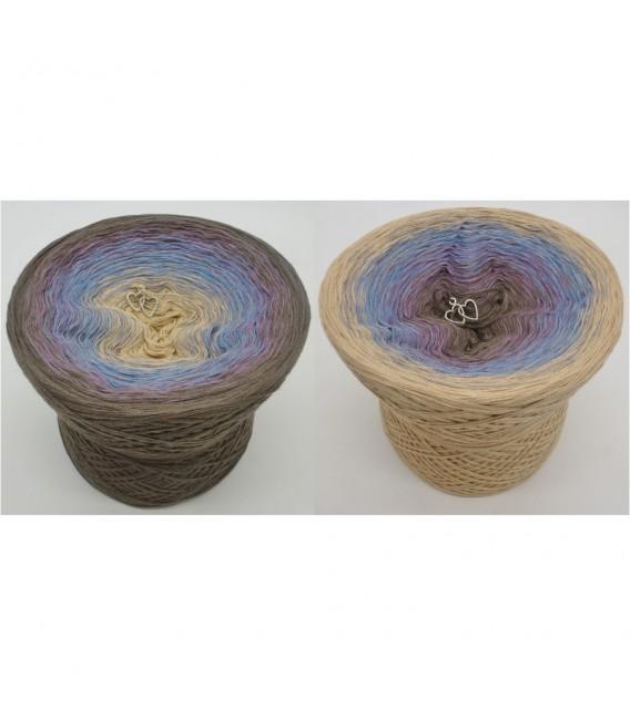 Weg zum Glück (Way to happiness) - 4 ply gradient yarn - image 1