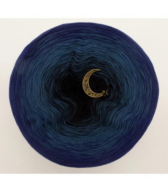 Dunkle Nacht - Farbverlaufsgarn 4-fädig - Bild 7
