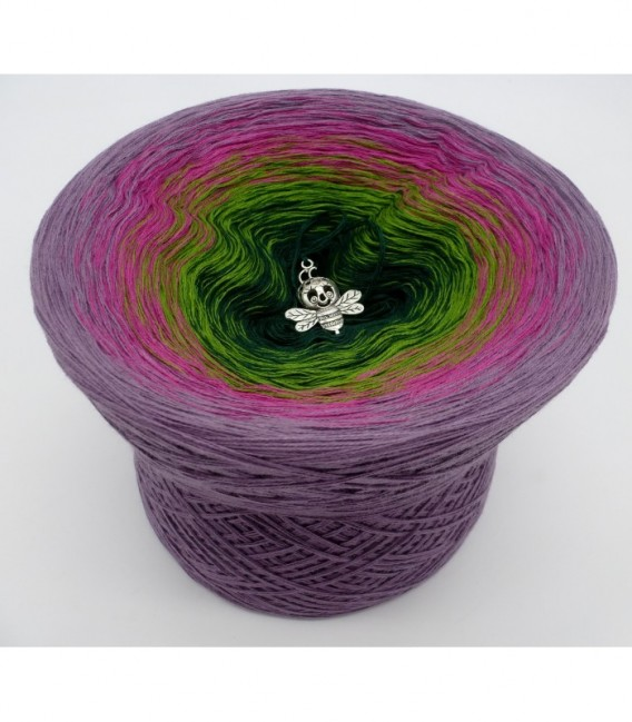 Blühende Heide (Flowering heather) - 4 ply gradient yarn - image 6