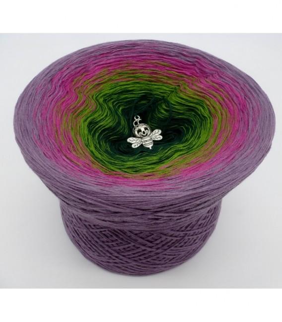 Blühende Heide (Flowering heather) - 4 ply gradient yarn - image 6