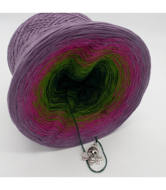 Blühende Heide (Flowering heather) - 4 ply gradient yarn - image 8