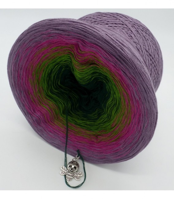 Blühende Heide (Flowering heather) - 4 ply gradient yarn - image 9