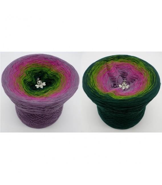 Blühende Heide (Flowering heather) - 4 ply gradient yarn - image 1