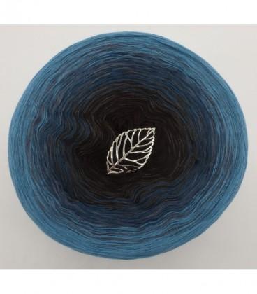 Blauer Planet (planète bleue) - 4 fils de gradient filamenteux - Photo 8