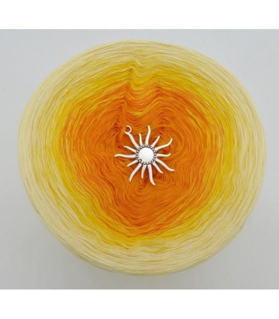 Sonne auf der Haut - Farbverlaufsgarn 4-fädig - Bild 7