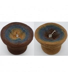 Schatz des Pharao - 4 ply gradient yarn