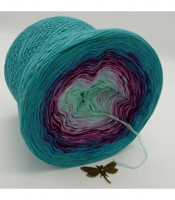 Kletterrosen (Climbing roses) - 4 ply gradient yarn - image 8