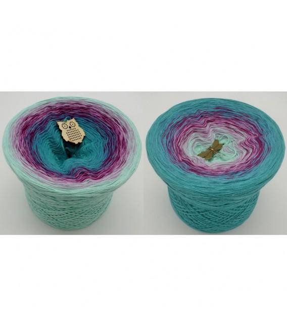 Kletterrosen (Climbing roses) - 4 ply gradient yarn - image 1