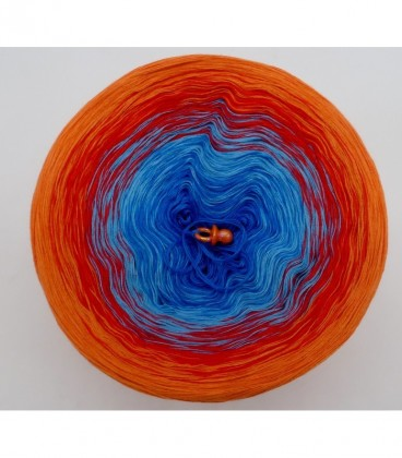 Harlekin - Farbverlaufsgarn 4-fädig - Bild 7