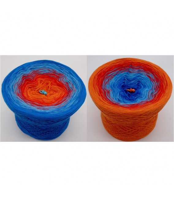 Harlekin (Harlequin) - 4 ply gradient yarn - image 1