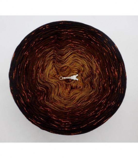 Schokokuss (шоколад поцелуй) с блеск - 4 нитевидные градиента пряжи - Фото 7