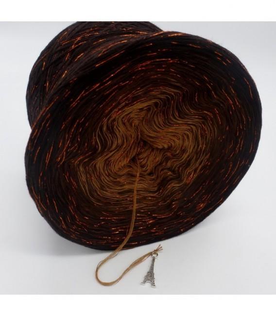 Schokokuss (chocolat Baiser) avec des paillettes - 4 fils de gradient filamenteux - photo 8