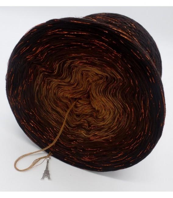 Schokokuss (шоколад поцелуй) с блеск - 4 нитевидные градиента пряжи - Фото 9