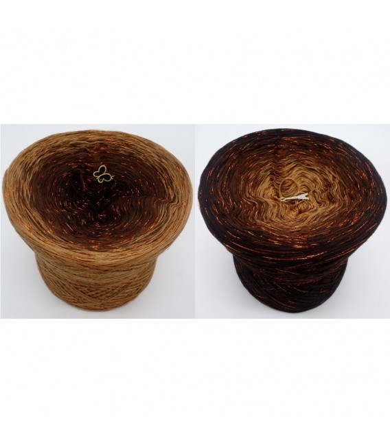 Schokokuss (chocolat Baiser) avec des paillettes - 4 fils de gradient filamenteux - photo 1