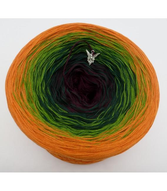 gradient yarn Irischer Frühling - Cognac outside 2