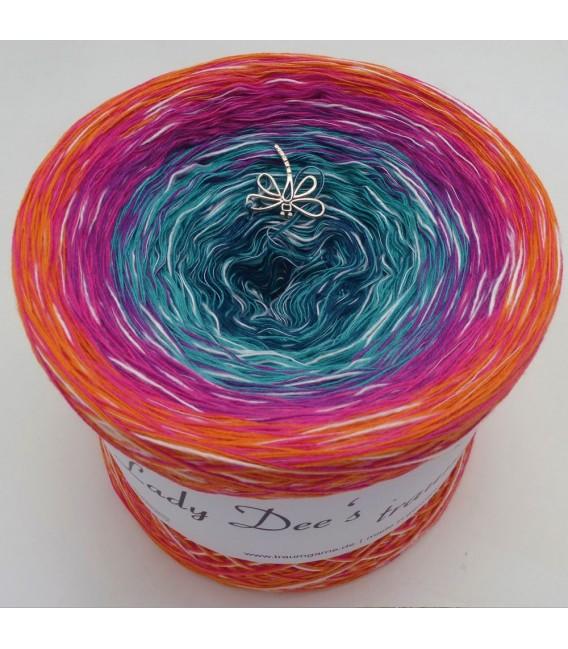 Floraler Cocktail - Farbverlaufsgarn 4-fädig - Bild 2