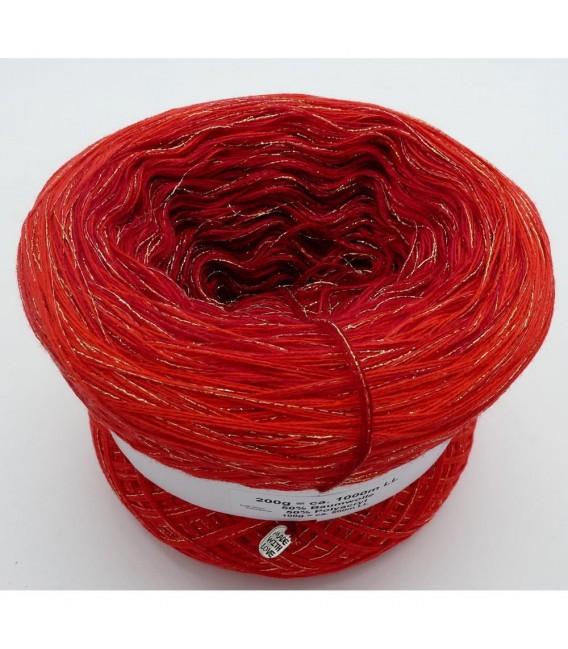 Weihnachtssternchen - 3 ply gradient yarn - image 2