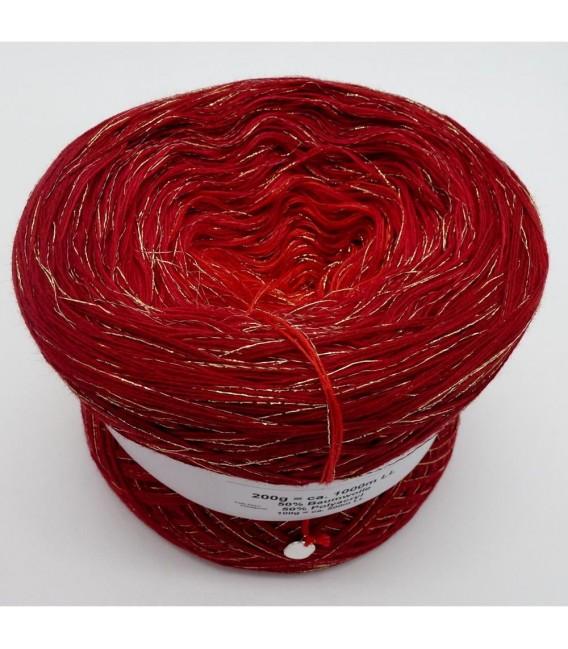 Weihnachtssternchen - 3 ply gradient yarn - image 3