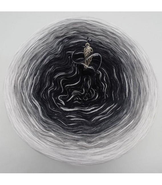 Black and White (Черный и белый) - 4 нитевидные градиента пряжи - Фото 7