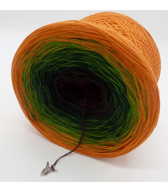 gradient yarn Irischer Frühling - Cognac outside 3