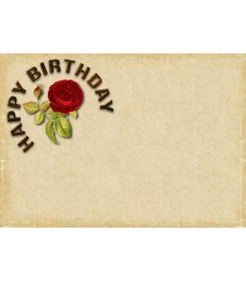 Gift Certificate - Birthday - Option 1