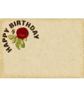 Подарочный сертификат - День рождения - Вариант 1