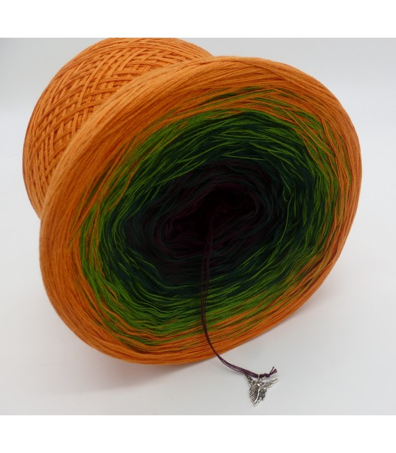 gradient yarn Irischer Frühling - Cognac outside 4