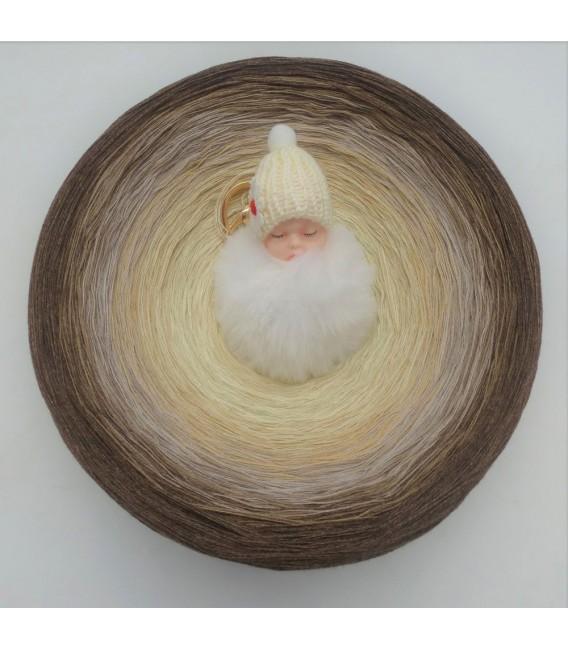 Vanille Schokoccino (Ванильное шоколадное кокино) Гигантский Bobbel - 4 нитевидные градиента пряжи - Фото 2