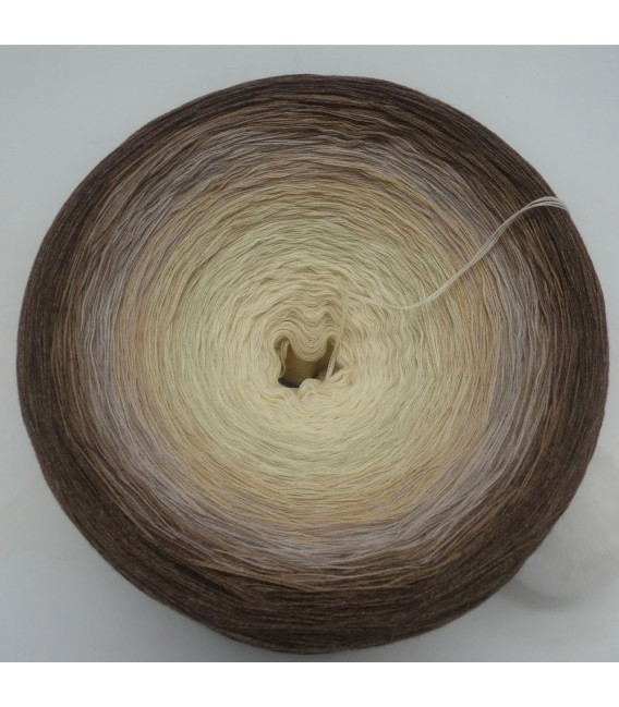 Vanille Schokoccino (Chocolat coco vanille) Gigantesque Bobbel - 4 fils de gradient filamenteux - photo 3