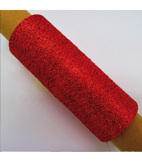 Auxiliary yarn - Lurex glow red - image 4