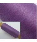 Beilaufgarn - Lurex Lavendel-Himbeere