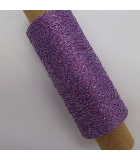 Auxiliary yarn - Lurex lavender-raspberry - image 2