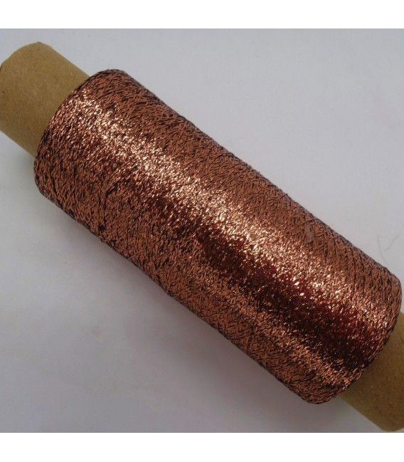 Beilaufgarn - Lurex Kupfer - Bild 2