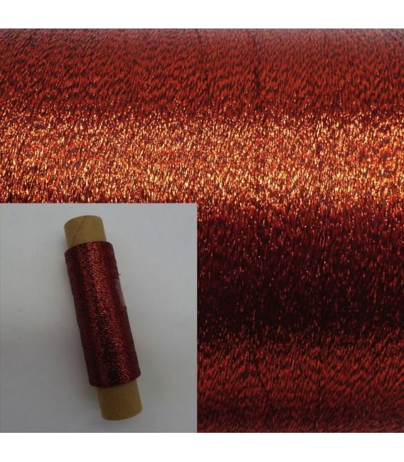 Auxiliary yarn - Lurex ruby - image 1