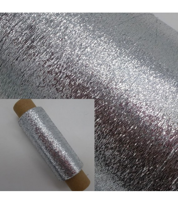 Beilaufgarn - Lurex Silber - Bild 1