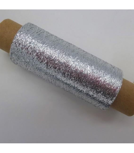 Beilaufgarn - Lurex Silber - Bild 2