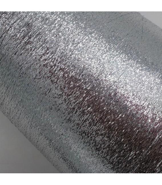 Beilaufgarn - Lurex Silber - Bild 3