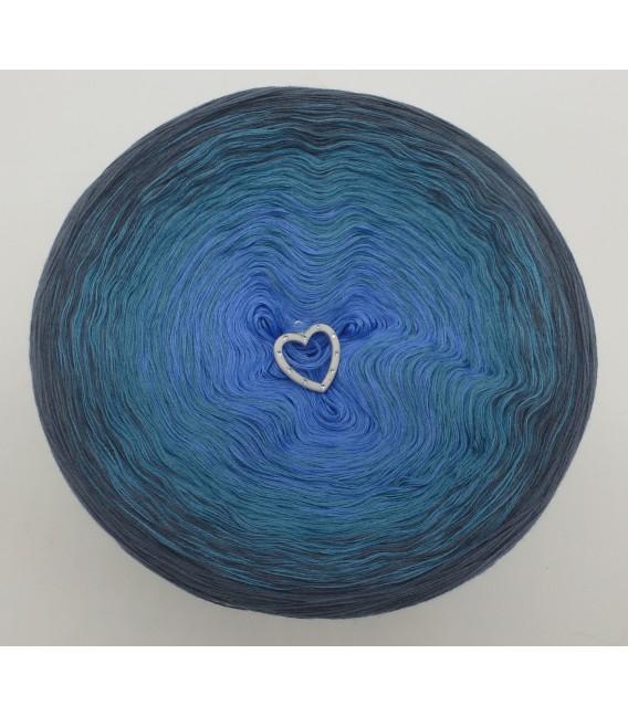 Blaue Sünde (синий грех) - 4 нитевидные градиента пряжи - Фото 3