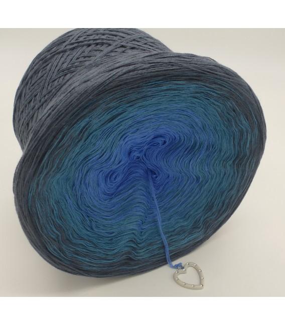 Blaue Sünde - Farbverlaufsgarn 4-fädig - Bild 4