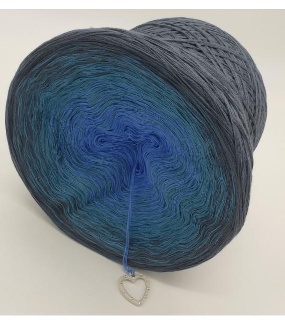 Blaue Sünde (синий грех) - 4 нитевидные градиента пряжи - Фото 5