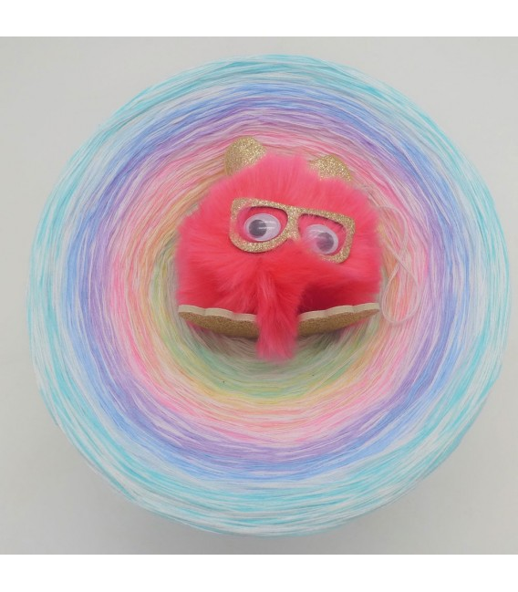 Whisper (chuchotement) Gigantesque Bobbel - 4 fils de gradient filamenteux - photo 6
