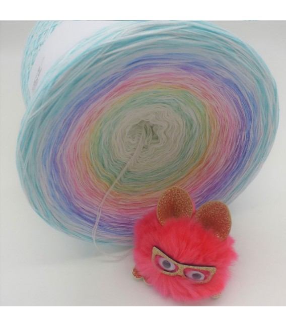Whisper (chuchotement) Gigantesque Bobbel - 4 fils de gradient filamenteux - photo 8