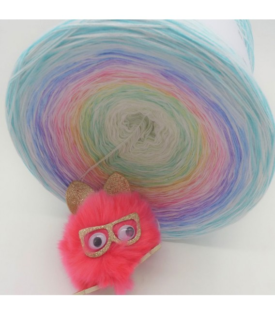Whisper (chuchotement) Gigantesque Bobbel - 4 fils de gradient filamenteux - photo 9