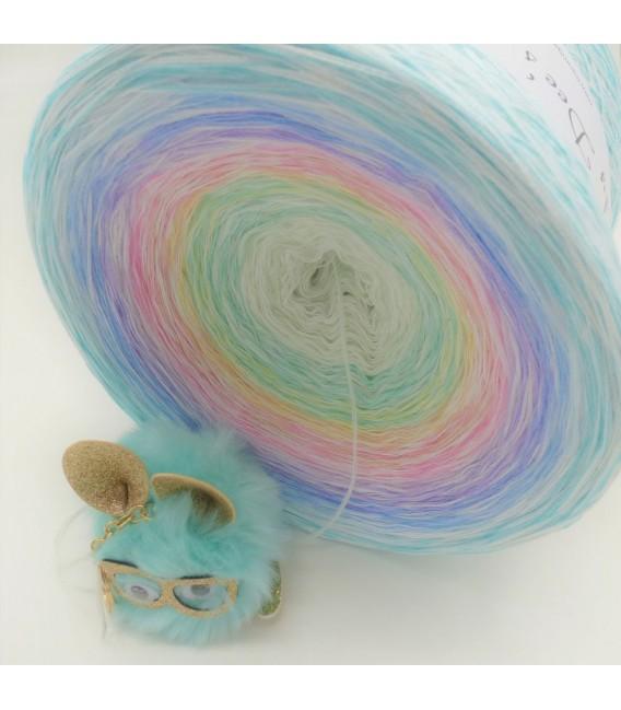 Whisper (шептать) Гигантский Bobbel - 4 нитевидные градиента пряжи - Фото 10