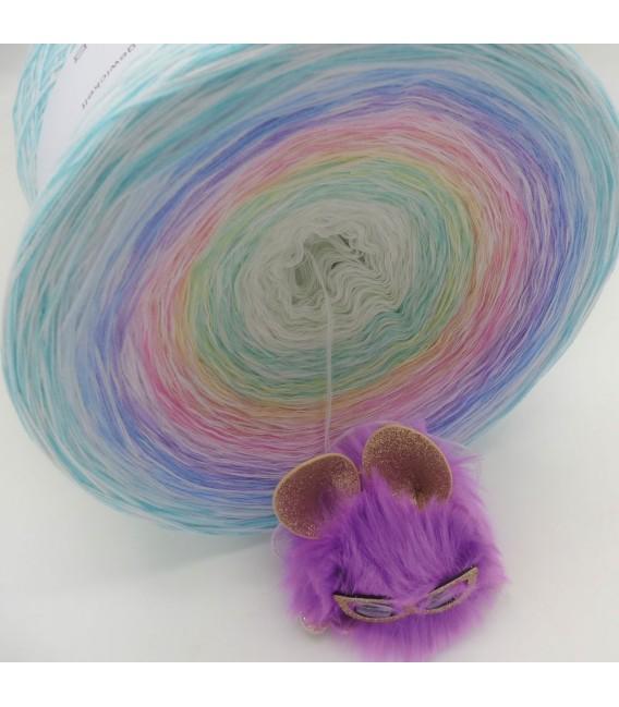 Whisper (шептать) Гигантский Bobbel - 4 нитевидные градиента пряжи - Фото 13